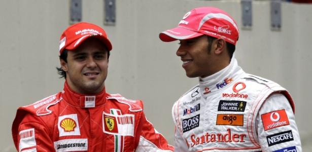 massa e hamilton apos gp do brasil de 2008 disputa pelo titulo ate a ultima curva 1472735667619 615x300 - Felipe Massa anuncia aposentadoria da Fórmula 1 após 14 temporadas