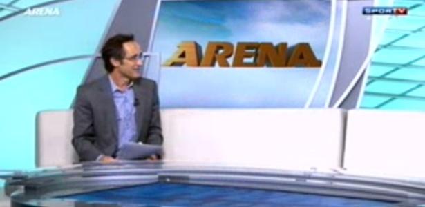 Marcelo Barreto apresenta o último Arena Sportv
