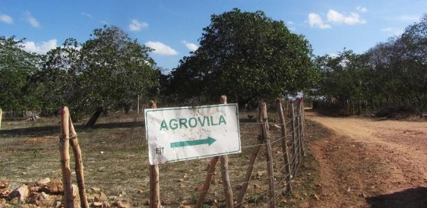 Área da agrovila está a 16 km aproximadamente da área urbana do município de Itapipoca