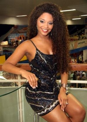 A atriz Juliana Alves