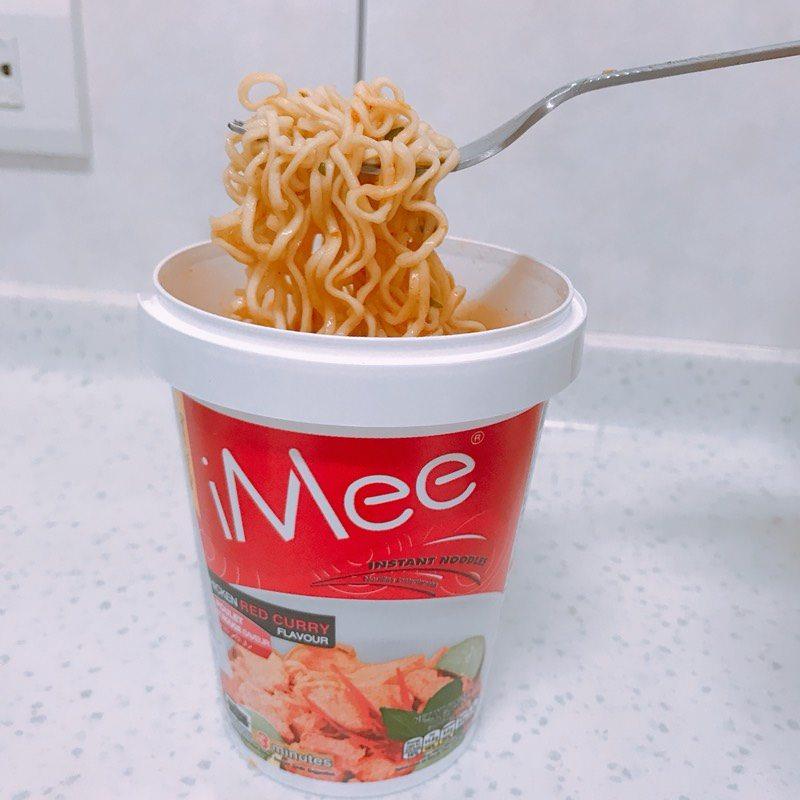 #分享 #全聯 iMee泰式紅咖哩泡麵 - 美食板   Dcard