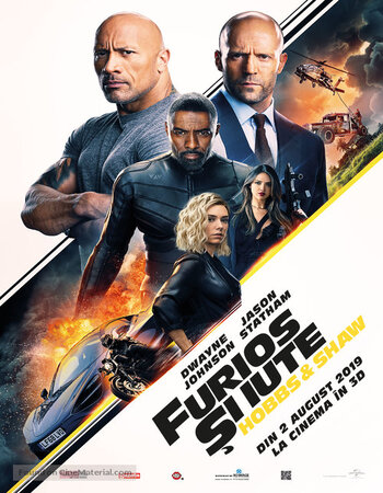 Fast & Furious Presents Hobbs & Shaw 2019 720p HDRip Dual Audio in Hindi English