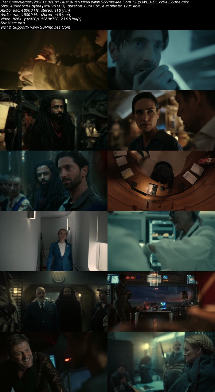Snowpiercer (2021) S02 Dual Audio Hindi 720p 480p WEB-DL ESubs Download