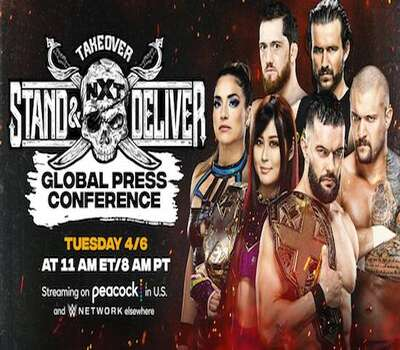 WWE NXT TakeOver Stand & Deliver 2021 480p | 720p HDTV x264 400MB | 1GB Download