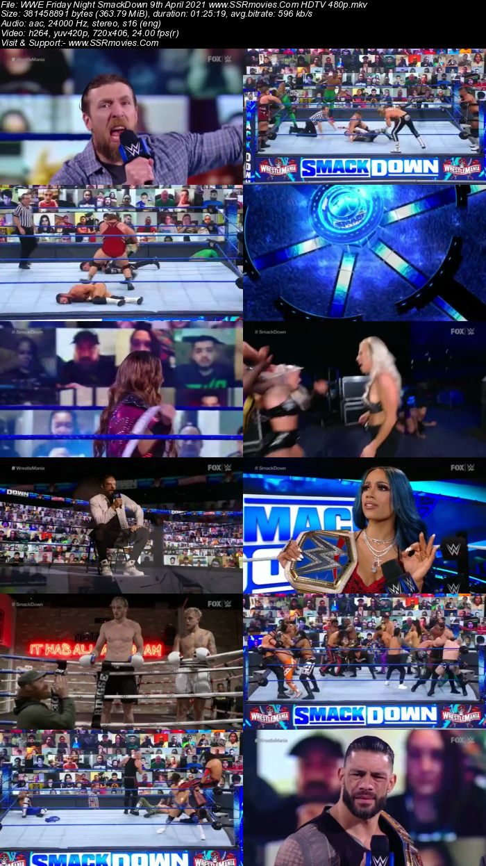 WWE Friday Night SmackDown 9th April 2021 Full Show Download