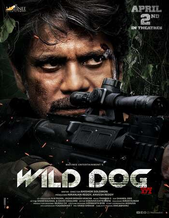 Wild Dog (2021) Telugu 720p WEB-DL x264 1GB Full Movie Download