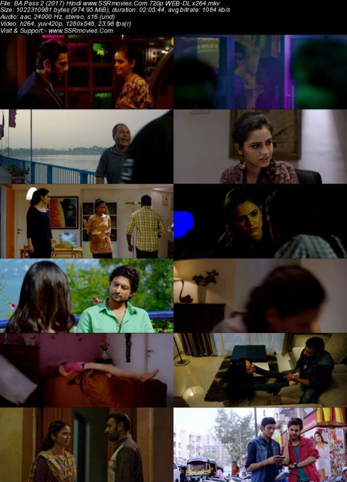 B.A. Pass 2 (2017) Hindi 720p WEB-DL x264 950MB Full Movie Download