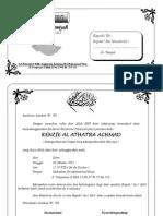 Undangan Syukuran Walimatul Tasmiyah Aqiqah