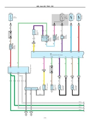 20072010 Toyota Tundra Electrical Wiring Diagrams