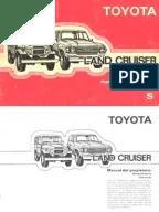 Toyota LandCruiser HJ60 o BJ75 Electrical Wiring Diagrams