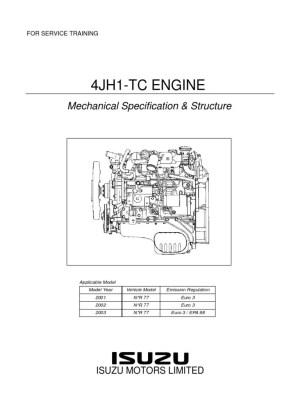 4JH1TC mecánica
