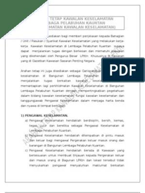 Contoh Surat Perletakan Jawatan Pengawal Keselamatan Download Kumpulan Gambar