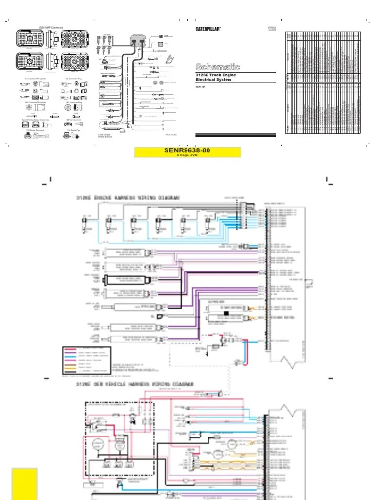 Wiring Diagram 3126 Cat Engine Wiring Diagram On Cat 3126 Ecm