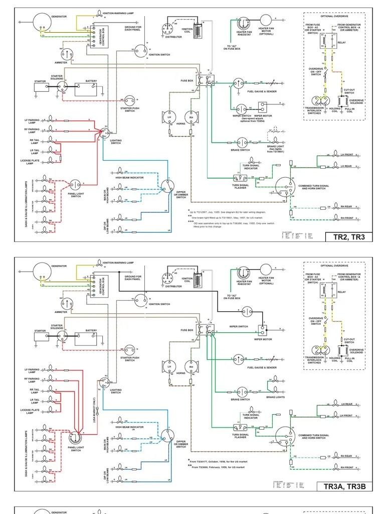 [WRG7679] Tr4a Wiring Diagram