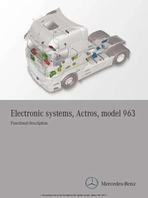 Actros electronic systems Model 963pdf | Axle | Switch