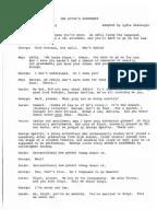 The Dumb Waiter Script Tea