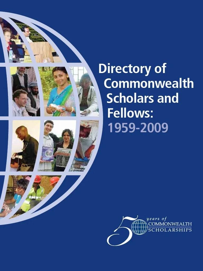 Directory 1959 2009 Full University Academia