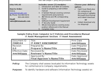 Information technology policies and procedures templates best free what are policies procedures guidelines standards medical clinic policy and procedure manual template sop policies and medical clinic policy and procedure maxwellsz