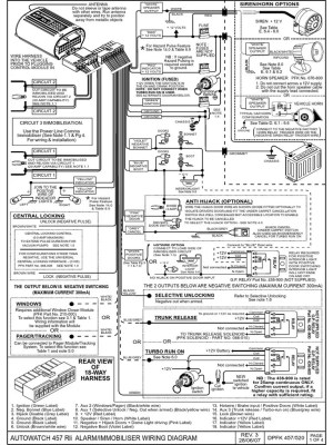 446RLi wiring guide | Switch | Relay
