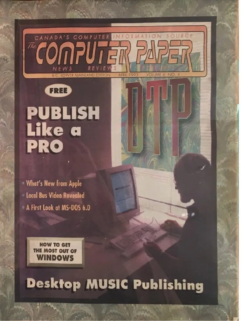1993 04 the Computer Paper   BC Edition   Computing   Technology