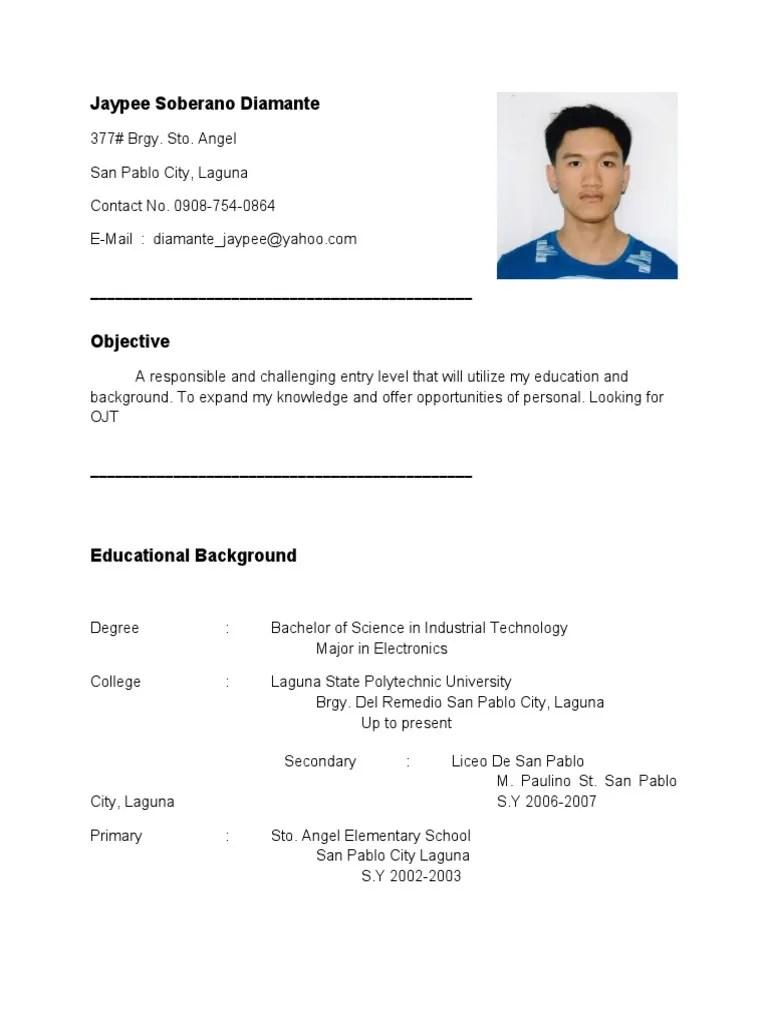 resume sample ece resume financial education software development
