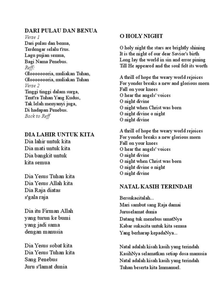 Lirik Lagu Waktu Tuhan Bukan Waktu Kita : lirik, waktu, tuhan, bukan, Lirik, Pulau, Benua, Bahasa, Inggris