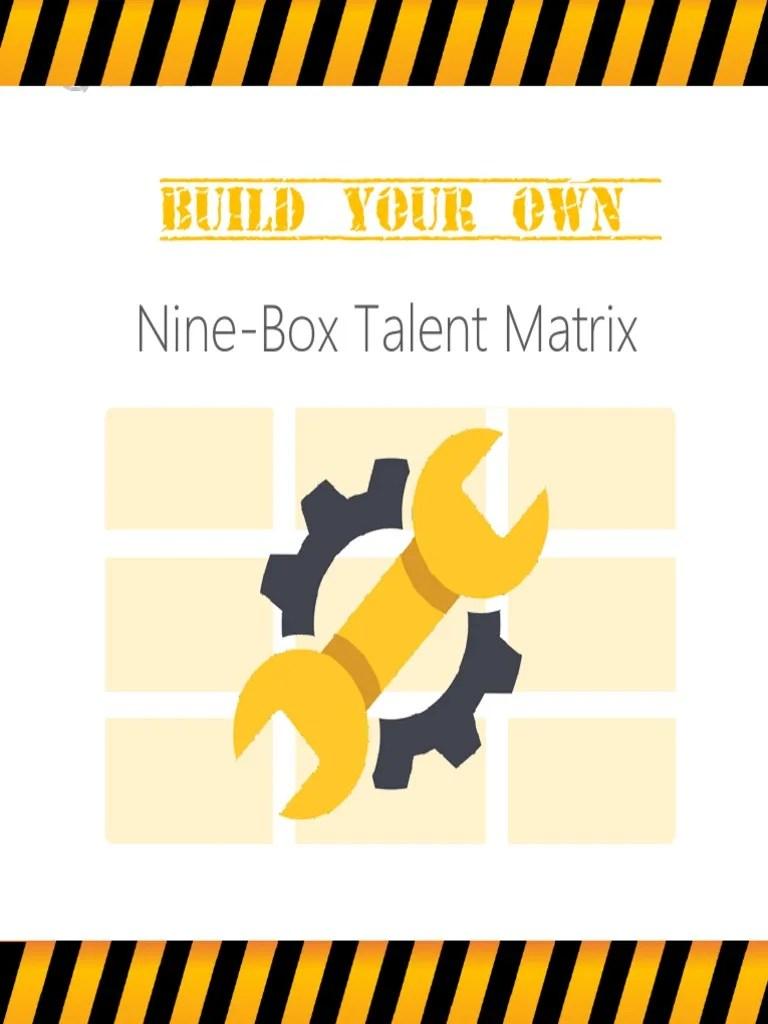Build Your Own Nine Box Talent Matrix