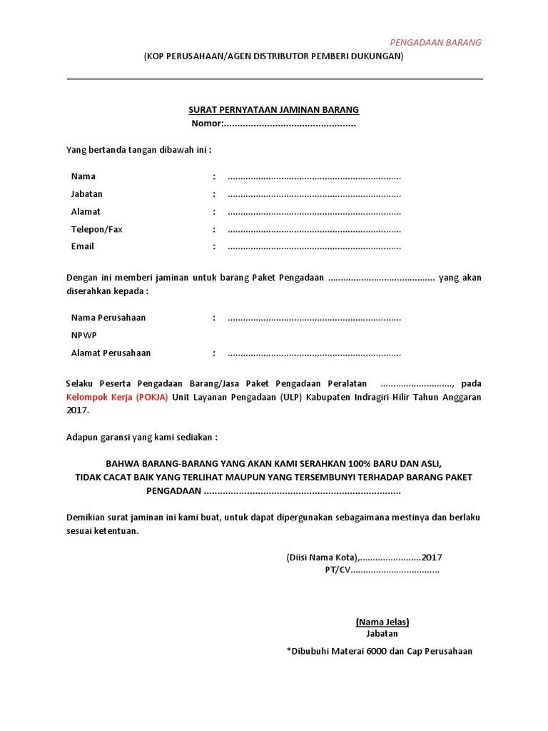 Surat Garansi Produk : surat, garansi, produk, Contoh, Surat, Garansi, Download, Kumpulan, Gambar