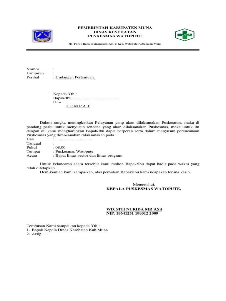 20+ Contoh Surat Undangan Meeting Perusahaan Dalam Bahasa Inggris ...