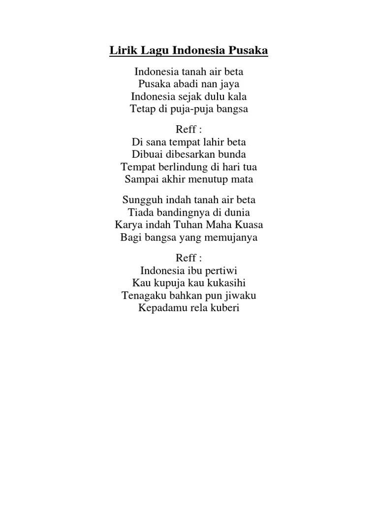 Syair Lagu Indonesia Pusaka : syair, indonesia, pusaka, Wajib, Indonesia, Pusaka, Karaoke
