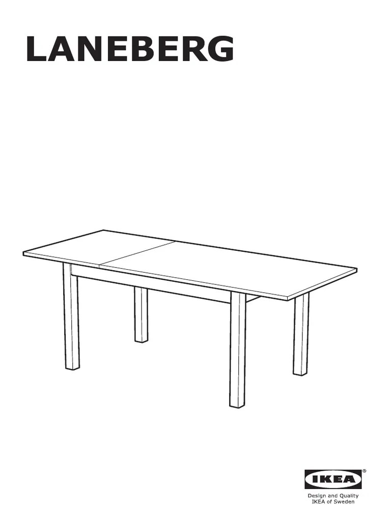 ikea laneberg table