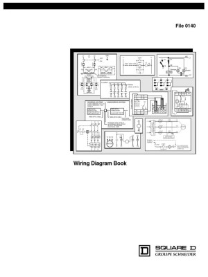 Square D Wiring Diagram Book | Switch | Relay