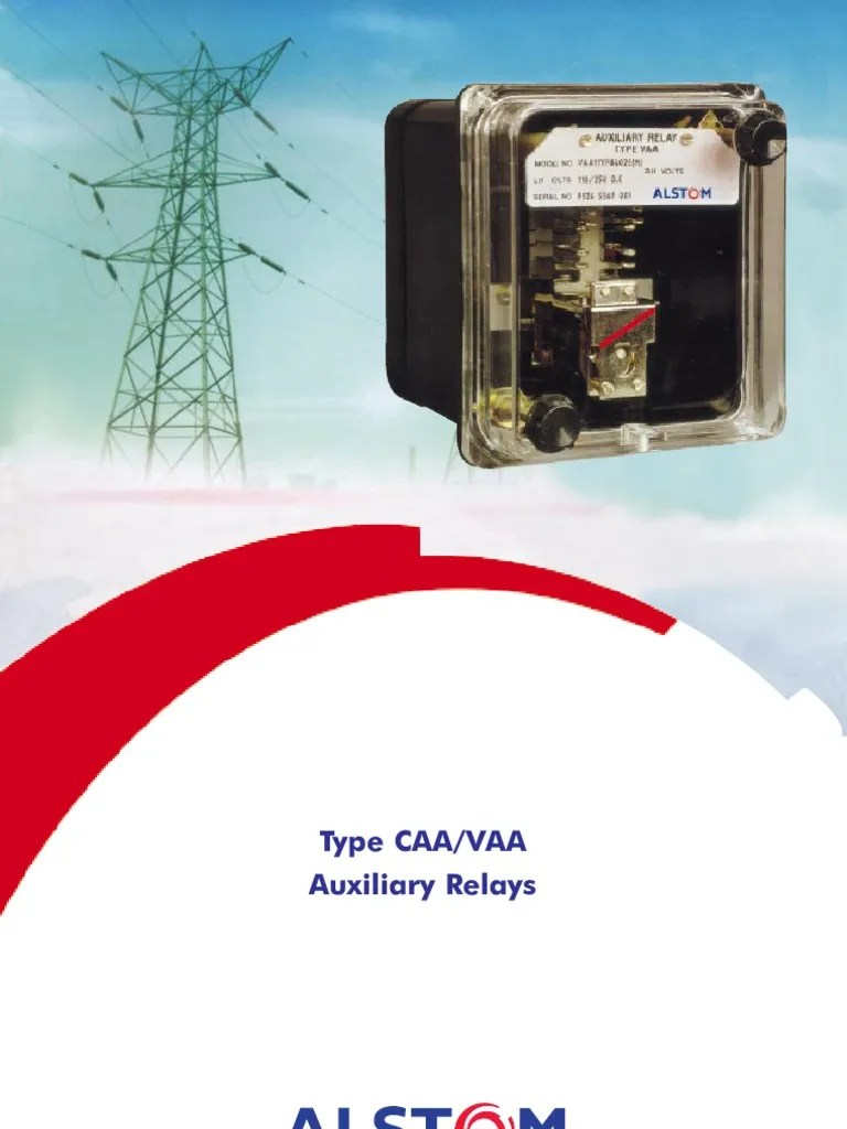 CAAVAA | Relay | Alternating Current
