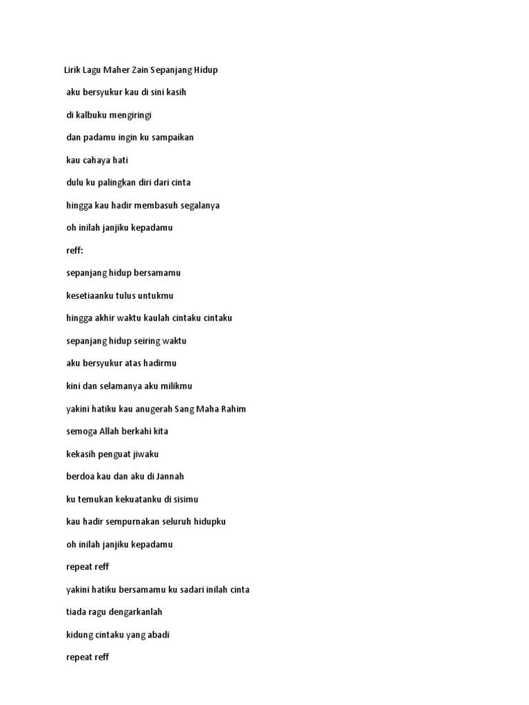 Download Lagu Maher Zain Sepanjang Hidup : download, maher, sepanjang, hidup, Maher, Sepanjang, Hidup, Download, Dalam, Gudang, Religi, Video, Tribun, Lampung, Cahaya, Palingkan, Cinta, Hhingga