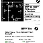 1998 Bmw Z3 M Roadster Electrical Troubleshooting Manual