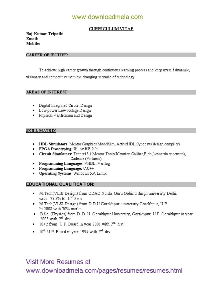 cover letter for resume of mba freshers
