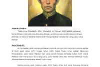 Gambar Pahlawan Nasional Teuku Umar