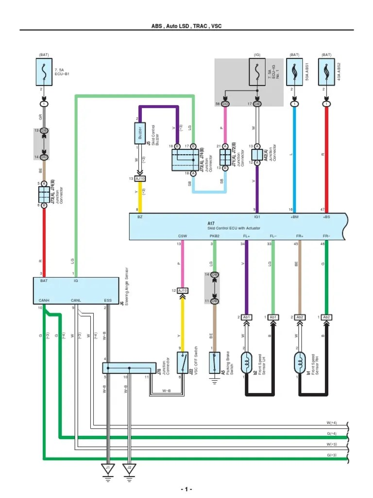 20072010 Toyota Tundra Electrical Wiring Diagrams