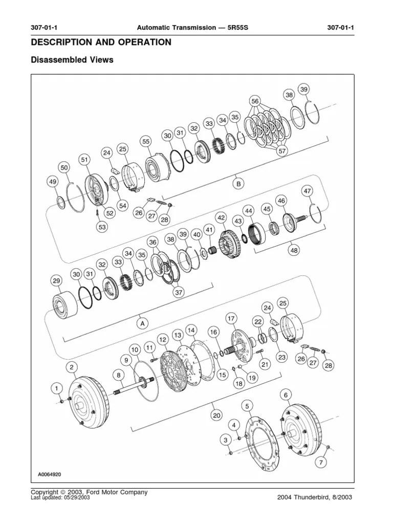 5R55S Exploded Diagrampdf | Transmission (Mechanics