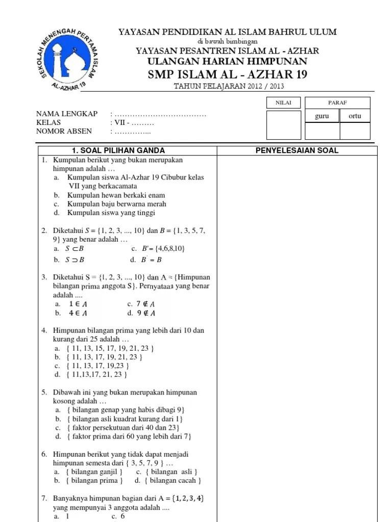 We did not find results for: Soal Dan Jawaban Matematika Kelas 7 Semester 1 Himpunan Kumpulan Contoh Surat Dan Soal Terlengkap