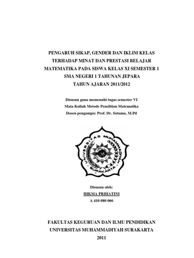 16 Skripsi Kualitatif Pendidikan Pdf