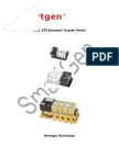 O   M Manual for the ATC 300  ATS Controller   Relay   Switch System ATS