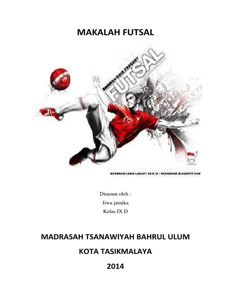 14 Makalah Sepak Bola Futsal