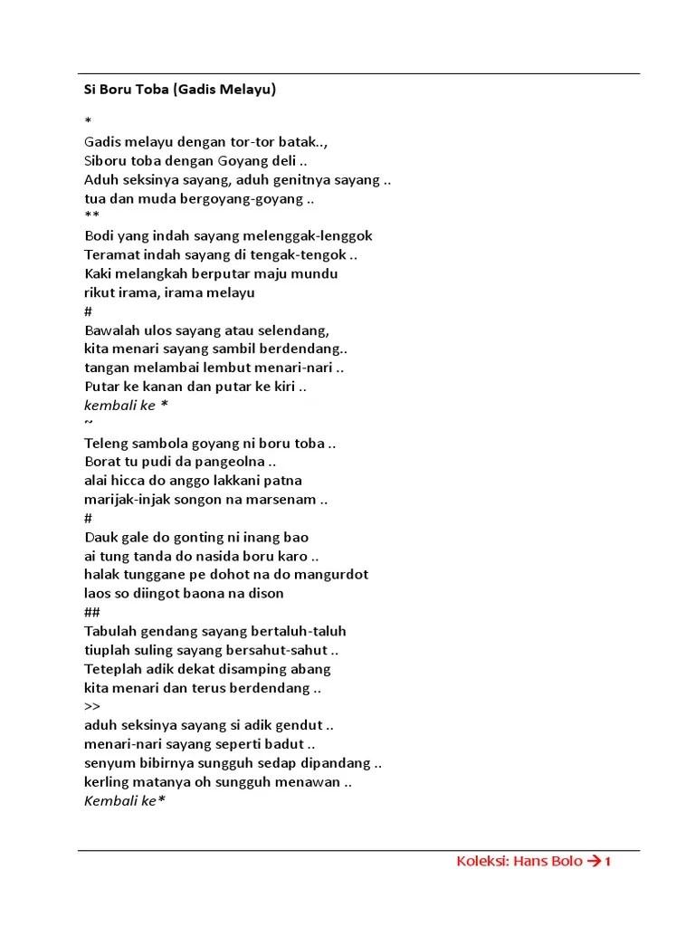 Lirik Lagu Mardua Holong by Omega Trio dan Terjemahan - GejaG