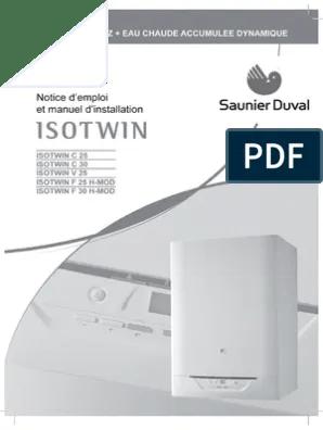 Isotwin Notice Installation Et Utilisation Cheminee Robinet Plomberie