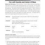 Fun Gravity Gravity Mass