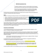 Demobilization Plan Template  jsa for demobilization works documents