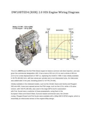 DW10BTED4 (RHR) 20 HDi Engine Wiring Diagram