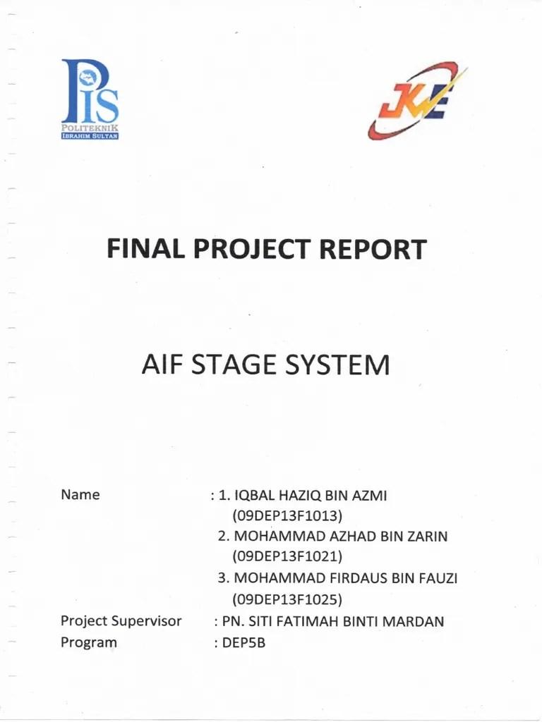 Final Year Project Report Politeknik