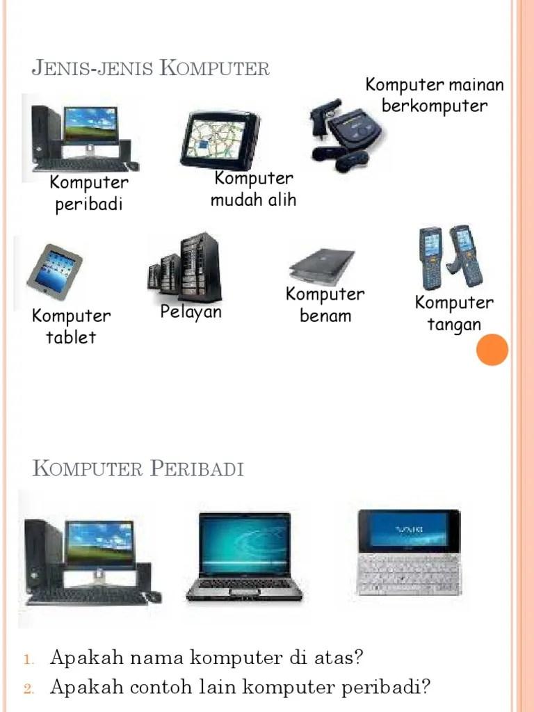 Jenis-jenis Teknologi : jenis-jenis, teknologi, Jenis, Komputer